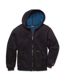 Workrite 9.5 oz Nomex IIIA Navy Zip-Front Hooded Sweatshirt