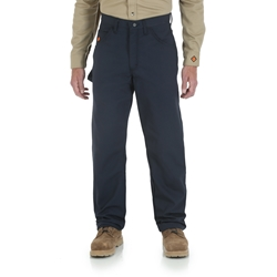 Wrangler Riggs Workwear FR Navy Ripstop Carpenter Pants