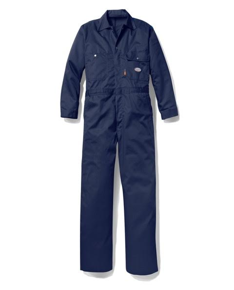Rasco FR 7.5 oz. Coverall - Navy flame, resistant, retardant, mens, mens
